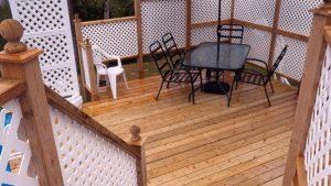 patio et terrasse après