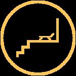 icône galeries et escaliers